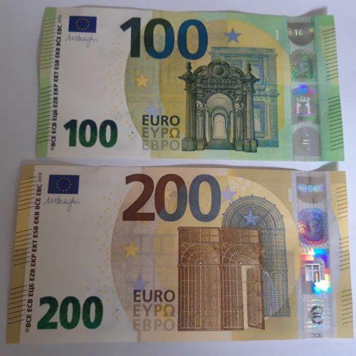 banconote euro in vendita