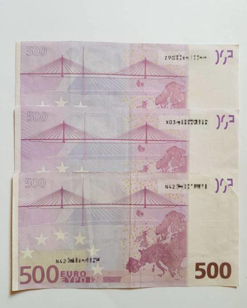 Euro falsi da napoli