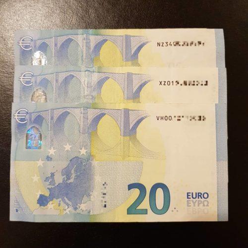 Acquista banconote da 20 euro