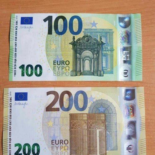 Euro falsi da Milano